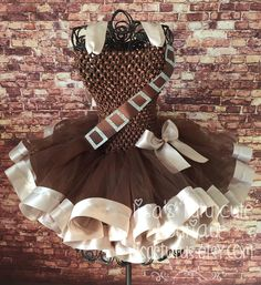 A personal favorite from my Etsy shop https://www.etsy.com/listing/287312755/chewbacca-tutu-dress-chewbacca-dress