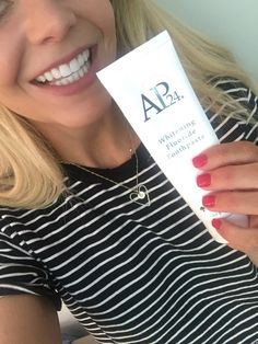 get Safe Teeth Whitening for adults and kids- whitening toothpaste Whitening Fluoride toothpaste with amazing results. No gluten gluten free no chemicals Nu Skin, Whitening Fluoride Toothpaste, Teeth Whitening, Ap 24, Charcoal Toothpaste, White Teeth, Oral Health, Gluten Free, T Shirts For Women