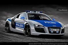 Audi-Bulli and Police of Cupa-Design - Today Pin Audi R8 V10, Audi Rs, Audi Sport, Sport Cars, Police Truck, Police Cars, Police Vehicles, German Police, Ferrari