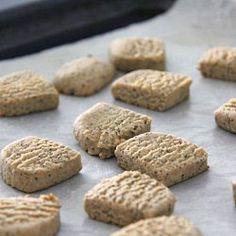 Healthier Earl Grey Cookies