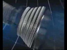 Se explica como funciona una turbina
