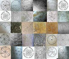Graffiti: Compass drawn designs