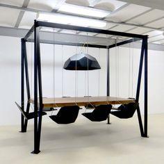 Duffy London Swing Table | stylondo.com - die Nr. 1 für Ihr Zuhause - Hausbau, Einrichten, Architektur und Interior Design