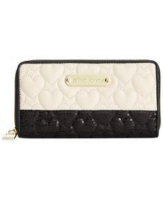 Yet another self-bday gift idea  Betsey Johnson Macy's Exclusive Zip Around Wallet - Wallets & Wristlets - Handbags & Accessories - Macy's