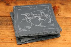 Rockets Greatest Plays Coasters - Slate Coasters (Set of 4) – Points and Pints