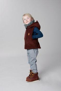 GRO Company NYHETER! - Corduroy waistcoat fra GRO Company | Barneklær på nett