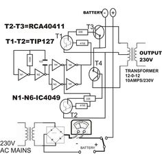 LM338 Adjustable power supply circuit Power supply