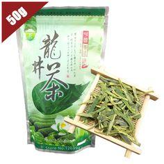 #relax #organic #tea Hot 2016 Spring Chinese Longjing Dragon Well Tea, Organic Green Tea Long Jing 50g