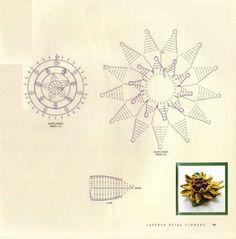 Crocheted flowers - Augusta - Picasa-Webalben
