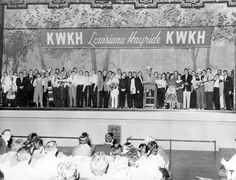 April 3, 1948: The Louisiana Hayride debuts on KWKH-AM in Shreveport