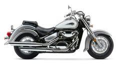 Looks like my old Suzuki VL800 Volusia.  What a great bike!