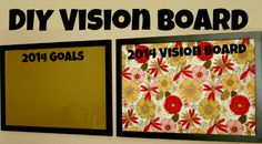 DIY Vision Board ... get your goals and vision on the wall and stay focused!   www.denisedesigned.com Creative Walls, Dry Erase Board, Design Crafts, Home Hacks, Wall Design, Easy Crafts, Diy Home Decor, Vision Book, Vision Boarding