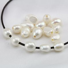 large hole pearls,10mm white baroque pearls,freshwater irregular nugget pearls,big hole pearls,1.0mm,1.5mm,1.8mm, 2mm,2.2mm,2.5mm
