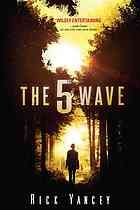 "The 5th Wave by Richard Yancy: The first wave was an electromagnetic pulse; the second, disasters that destroy the world's coasts; the third, an ebola-like plague; and the fourth, ""Silencers"" picking off those unlucky enough to remain. Now Cassie and Ben must survive the fifth assault by an alien species intent on eliminating the human race. This high-octane thriller by a Printz Honor winner famous for his ability to scare delivers apocalyptic thrills (Library Journal best of 2013)"