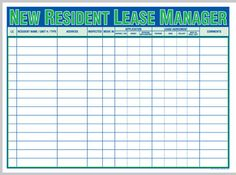 property management office whiteboard - Google Search