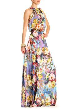 Летний сарафан в пол с красивым цветочным принтом от DVF. Размеры: S M L Цена: 1150 грн Заказать или купить сарафан можно в интернет-магазине брендовой одежды FStyle www.fstyle-shop.com.ua #dress #dresses #платье #fashion #style #look #мода #стильно #trend #brand #betrendy #шоппинг #ss2014 #покупки #платьевпол