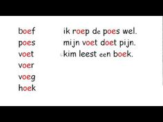 Learning Dutch - video - usage of ~oe~