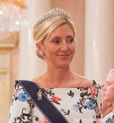 Crown Princess Marie-Chantal Of Greece & Denmark.