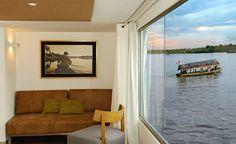 M/V Aqua Amazon Cruise - Iquitos, Peru #getlost Honeymoon Registry, Honeymoon Cruises, Lost Hotel, Five Star Hotel, You're Awesome, Peru, Windows, Architecture, World