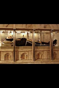 Padre Pio's body, miraculously incorrupt to this day. If this doesn't show that the Catholic Church is the real deal, I don't know what does.