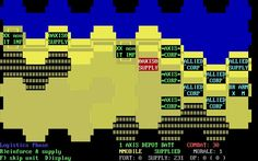 Knights of the Desert is an old  wargame strategy game released in 1983 by SSI Strategic Simulations Inc. and developed by Tactical Design Group.