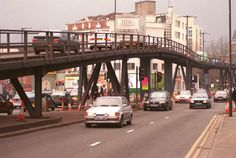"""16 things you'll remember if you grew up in Bristol in the The """"temporary"""" flyover. Local History, British History, Asian History, Tudor History, Family History, City Of Bristol, Bristol Uk, Bristol England, Hill Station"""