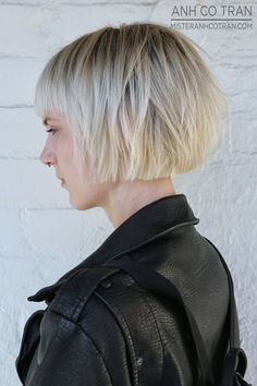 LA: SHORT, EDGY, AND COOL AT RAMIREZ|TRAN SALON. Cut/Style: Anh Co Tran. Appointment inquiries please call Ramirez|Tran Salon in Beverly Hills: 310.724.8167