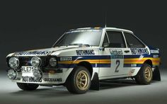 ▐ Ford Escort - VLE Built by David Sutton Motorsport for Ari Vatanen - 1981 Ford Motor Company, Carros Suv, Ford Motorsport, Ford Rs, Old Fords, Ford Escort, Rally Car, Car And Driver, Courses