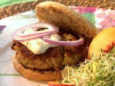 Crab Cake Burgers - 163 calories per burger