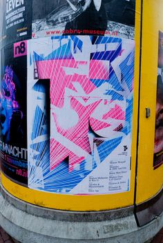 poster in Amsterdam: TROUW   by Posters in Amsterdam by Jarr Geerligs