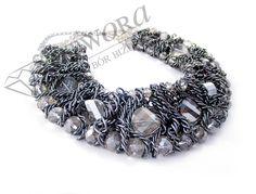 Masywna szara kolia. Jewelry, Fashion, Moda, Jewlery, Jewerly, Fashion Styles, Schmuck, Jewels, Jewelery