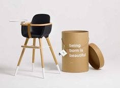 Dezeen » Blog Archive » Ovo high chair by CuldeSac