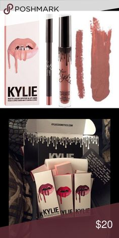 Candi K Kylie cosmetics lip kit Unopened new Kylie lipkit in color candi K Kylie Cosmetics Makeup Lipstick