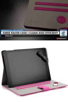 Clean & Protect your iPad Air with the Innovative & Efficient Gwee Racer Case - NewsWatch Tech #Review on the Gwee #iPad Racer Case