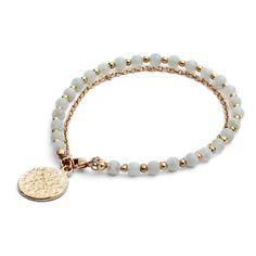 Cinderela B - Jewellery - Bracelet - Duck egg blue