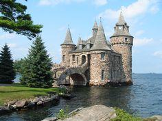 Heart Island, Thousand Islands, NY. #travel #usa