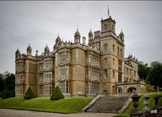 """Englefield House, Berkshire. Miss Havisham's 'Satis House' in """"Great Expectations.""""  Englefield House and gardens are regularly used as a film location and the estate can be seen in The King's Speech, as well as Agatha Christie's Miss Marple, Poirot, Inspector Morse and Jeeves and Wooster. The gardens can be visited from April to October."""