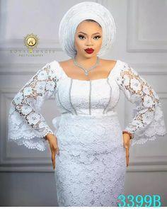 Lace Blouse Styles, Nigerian Lace Styles Dress, Lace Skirt And Blouse, African Lace Styles, Lace Dress Styles, African Maxi Dresses, Latest African Fashion Dresses, African Attire, Cord Lace Styles