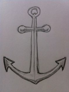 Drawing Doodles Sketches If you want to learn to draw a simple and easy anchor then you need to take a look at this drawing tutorial. It teaches you a step-by-step process to draw a simple anchor quickly. Find out more. Anchor Drawings, Pencil Art Drawings, Doodle Drawings, Art Drawings Sketches, Anchor Sketch, Dragon Drawings, Cool Easy Drawings, Cute Drawings, Art Simple