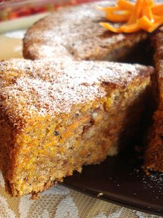 Carrot Cake, translate button required, excellent homemade flavours,