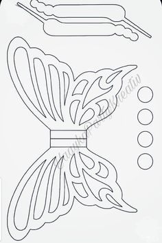 Butterfly Template, Leaf Template, Flower Template, Owl Templates, Crown Template, Applique Templates, Applique Patterns, Paper Flower Patterns, Felt Patterns