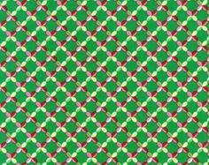 5 Yards Santa Beatrice Weave - Michael Miller Christmas Fabric