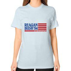 Reagan Bush '84 Flag Women's T-Shirt