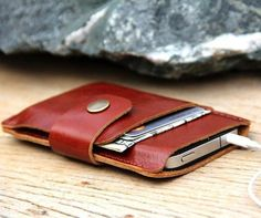 Leather iPhone Wallet by Sakatan Leather – $19