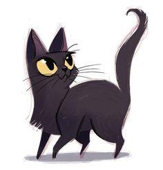 Σαπούνι με ρετσίνι πεύκου | Χειροποίητον Bombay Cat, Black Cat Art, 2d Art, Cat Drawing, Design Art, Disney Characters, Fictional Characters, Moose Art, Cool Designs
