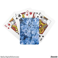 Ice Playing Cards