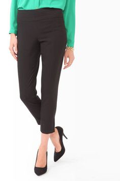 Shop for Paneled Straight Ankle Pants by Forever 21 at ShopStyle. Ankle Pants, My Outfit, Latest Trends, Capri Pants, Forever 21, 21st, Fashion Outfits, Chic, My Style