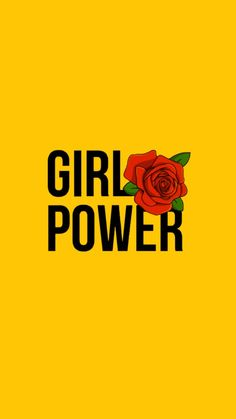 #girlpower #wallpaper #feminist #rose #gül