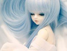 grafika doll, kawaii, and bjd Anime Dolls, Blythe Dolls, Barbie Dolls, Pretty Dolls, Beautiful Dolls, Geisha, Dibujos Anime Chibi, Cute Baby Dolls, Kawaii Doll
