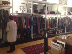Shop Interiors •~• clothing racks